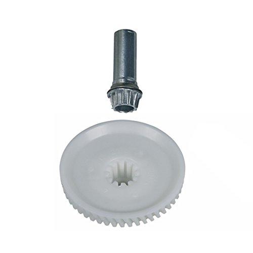 Bosch 622182 00622182 ORIGINAL Zahnrad Getriebe Antrieb Stirnrad mit Achse MUM5 HomeProfessional Küchenmaschine