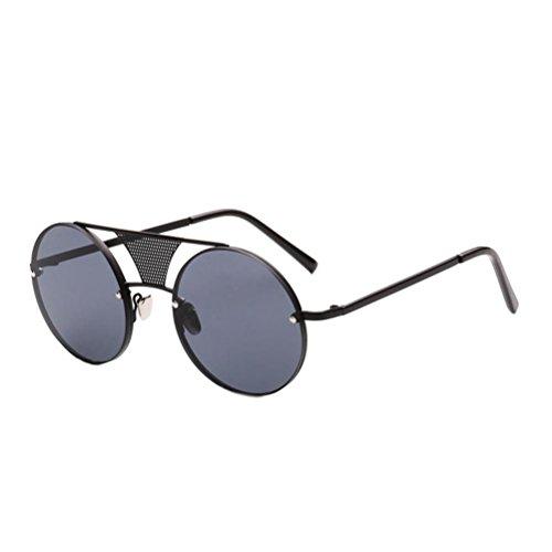 Männer Frauen-Sonnenbrille Metall bunt retro Sonnenbrillen CDs Sonnenbrillen c1