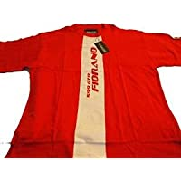 Gr.XL,Rot Ferrari Silver T-Shirt 25C Men