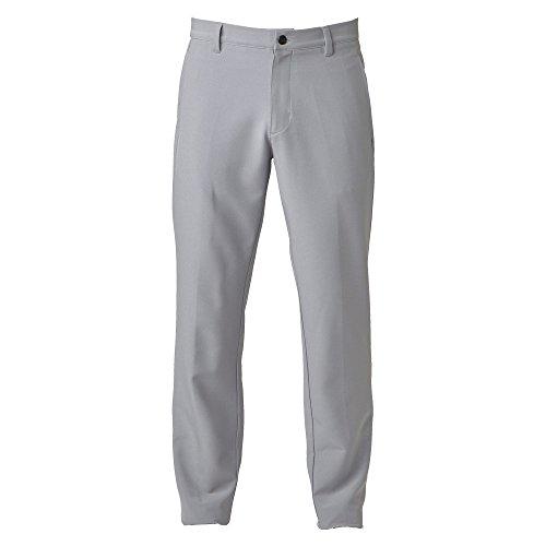 adidas Herren Ultimate + 3-Stripes Hose,grau (Mid Grey), W40/L32