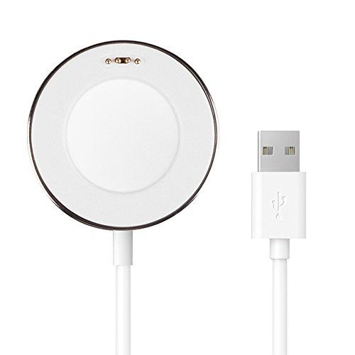 Pasonomi Magnetisches Ladekabel Charger Dock für Huawei SmartWatch (Weiß)