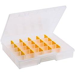 Allit Sortimentskasten, 1 Stück, gelb, Transparent, 457234