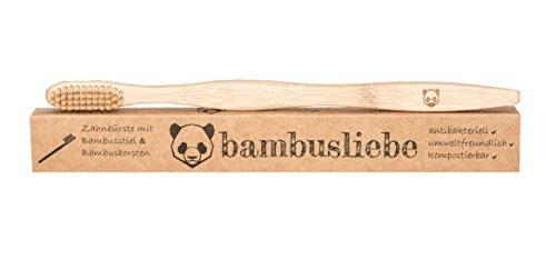 ✮ bambusliebe ✮ Bambus Zahnbürste für Erwachsene