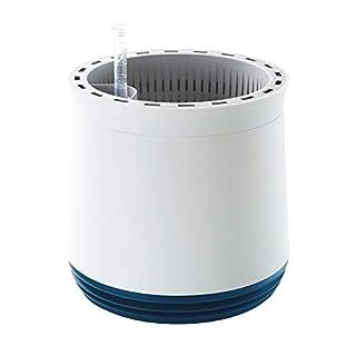 AIRY - Hochwirksame Luftreinigung mit Zimmerpflanzen in schneeweiß (Space Blue - blau)