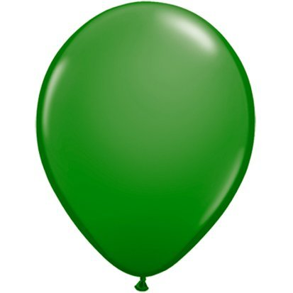 partydiscount24® Lot de 50 ballons gonflables Vert Ø 30 cm