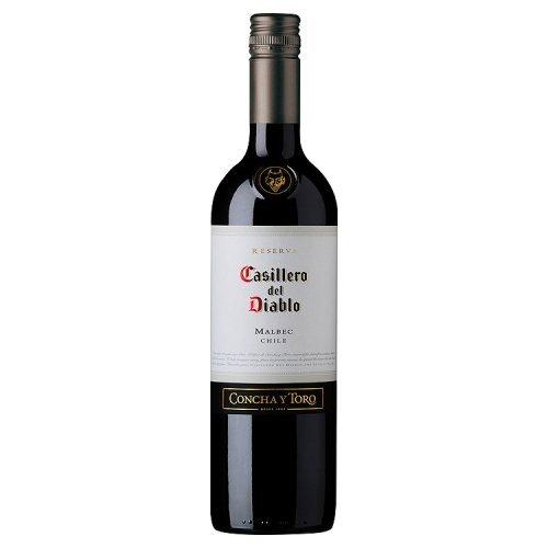 Casillero Del Diablo Malbec Chile 2017 Wine, 750 ml