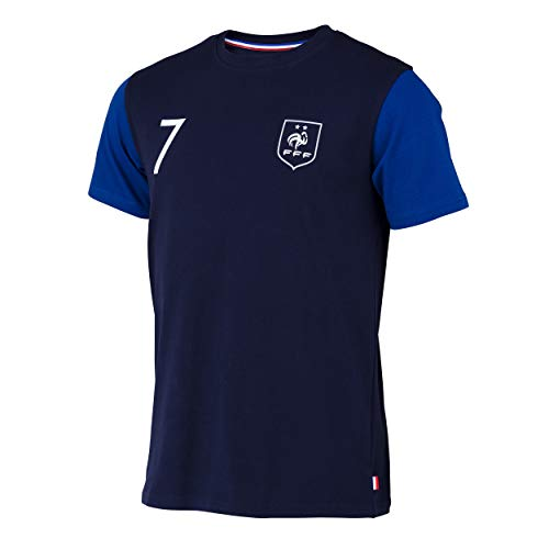 T-shirt FFF - Antoine Griezmann - Collection officielle Equipe de France de Football - Taille enfant garçon 12 ans