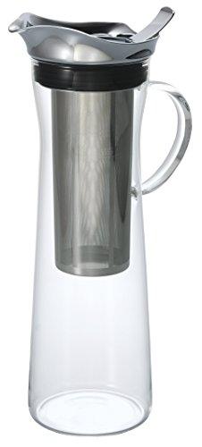 Hario Jarra de vidrio para café frío, transparente, 1000 ml