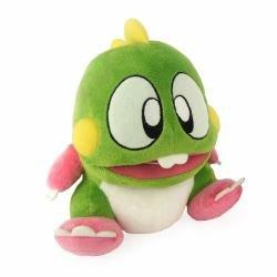 """Bubble Bobble GAYA-GE3290 22 cm """"Bubble Dragon Bub"""" Plush Toy with Sound Effects"""