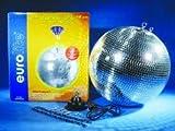 40cm Spiegelkugel Discokugel Partykugel für Club Event Partykeller mit Motor MD-1515