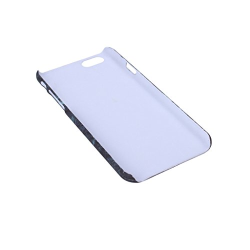 "Coque Cover iPhone 6 / 6S, IJIA Ultra-mince Motif Marbre Naturel Ivoire Blanc PC Plastique Dur Hard Bumper Case Cover Shell Coque Housse Etui pour Apple iPhone 6 / 6S 4.7"" + 24K Or Autocollant color-HD4"