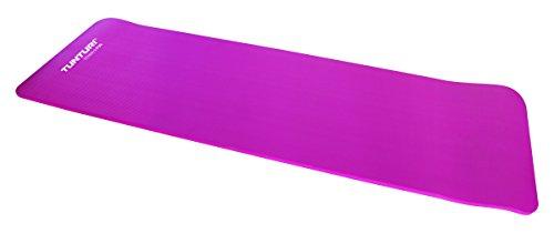 Tunturi NBR Fitness Matte Fitnessmatte Mit Tasche Pink, One Size