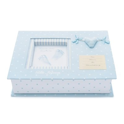 set-huellas-bebe-3d-corazon-en-azul-de-bebedeparis-masilla-especial-para-huellas-de-bebe-album-para-