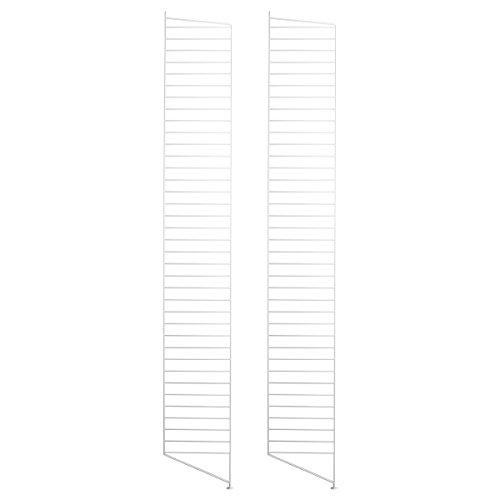 String Bodenleiter 2er-Pack weiß 200 x 30cm