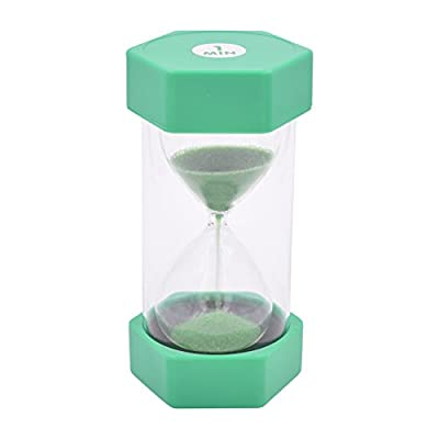 Large Sand Timer In Safecase - Perfect For Teachers Classrooms Home Or Office Decor - By Playlearn ... (1 Minutes) by PLAYLEARN