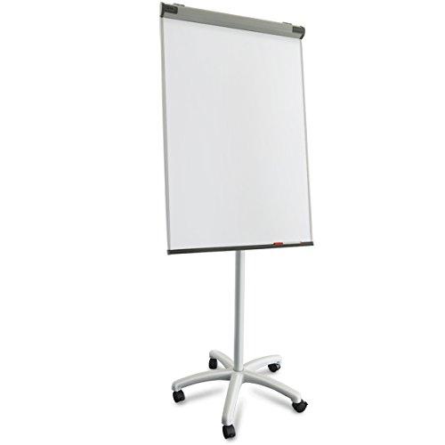 Master of Boards Profesional rotafolio con portarrollos Soporte | móvil y versátil | Papel desplegables | ajustable