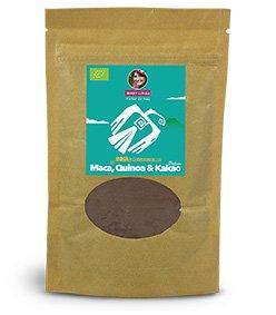 BIO Trinkschokolade INKA-POWERMIX: Kakao-Quinoa-Maca, 180g