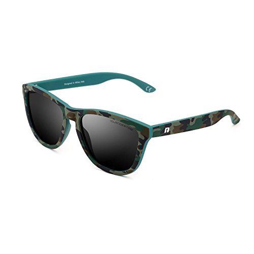 CLANDESTINE Model Camouflage Black - Damen & Herren Polarisierte Sonnenbrillen