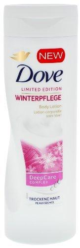 3 x Dove Limited Edition Winter Pflege Feuchtigkeitsspendende Bodylotion Deep Care Complex je 250ml