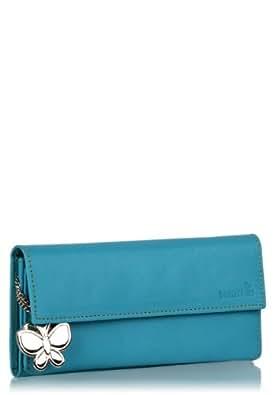 Butterflies Women's Wallet (Blue) (BNS 2049)