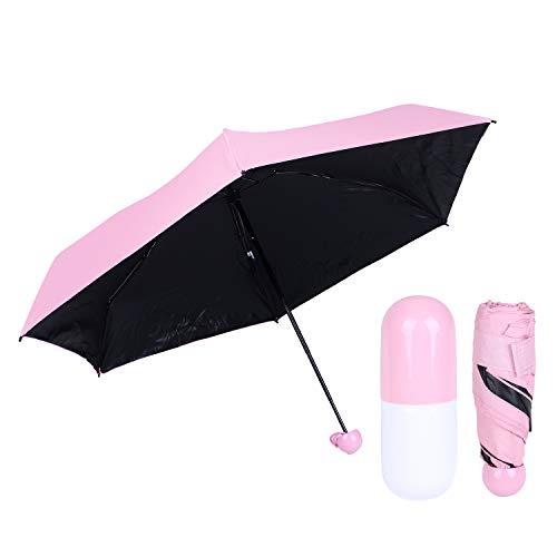 Paraguas Plegable Ultraligero 210T Mini Cápsulas