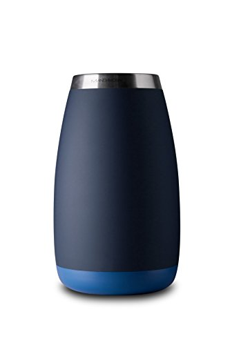 Mandahorn Aktiv-Flaschenkühler / Weinkühler Celsius Black Blue Matt (Azure Blue)