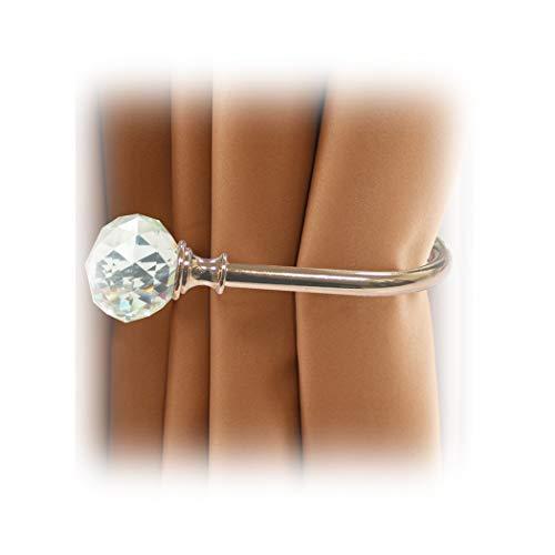phoewon para bola de cristal acrílico cortina de cortina alzapaños cortina de...