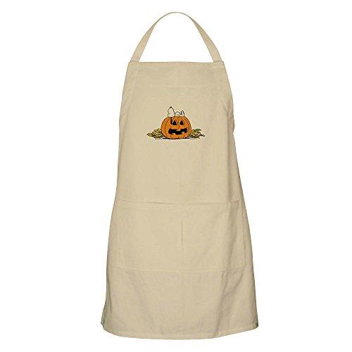 CafePress Grillschürze Peanuts Snoopy Pumpkin Patch Khaki