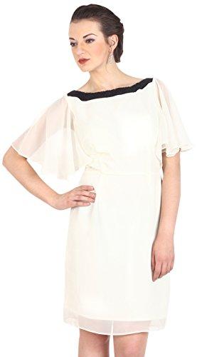 Avirate Women's Kimono Dress (AVDR101091_Ivory_10)