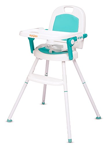 Little pumpkin Kiddie Kingdom 3 in 1 Foldable High Chair (Green) -