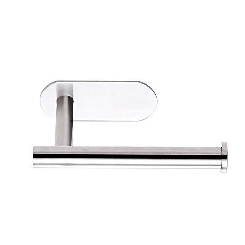 WYYWYF Toilettenpapierhalter für Badezimmer mit Wandhalterung aus Edelstahl