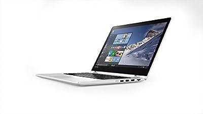 Lenovo Yoga 510 80VB00ADIH 14-inch Laptop (Core i3-7100U/4GB/1TB/Windows 10 Home/Integrated Graphics), White