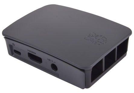 31xpySxXGYL - Raspberry Pi 3 Official Starter Kit Black, con Cargador Oficial, Caja Oficial, microSD Oficial de 16GB con NOOBS, Cable HDMI y disipadores