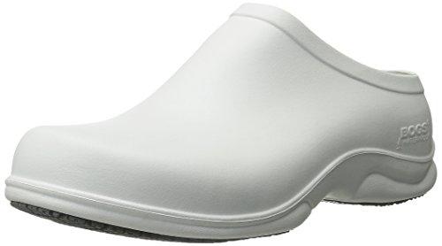 Bogs Mens Stewart Health Care & Food Service Shoe White