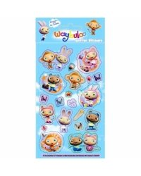 Waybuloo Foil Sticker Sheets - Each