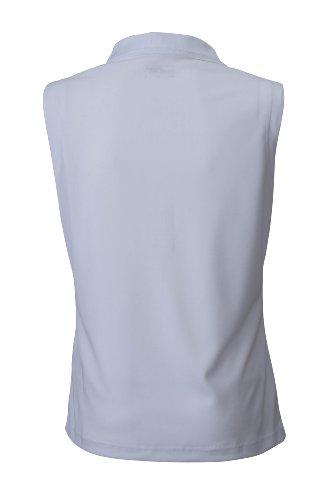 JAMES & NICHOLSON Polo micro polyester Blanc