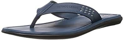 Franco Leone Men's Blue Hawaii Thong Sandals - 6 UK/India (40 EU)