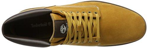 Timberland Bradstreet Leather Sensorflex, Bottes Chukka Homme Jaune (Wheat Nubuck)