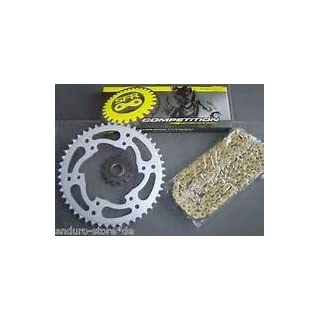 HYOSUNG GT250 COMET/FI GOLD O RING CHAIN AND SPROCKETS 06-10