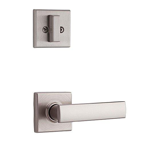 Kwikset 974VDL SQT 15 Vedani Single Cylinder Interior Pack for Contemporary Handlesets, Satin Nickel by Kwikset - Satin Nickel Handleset