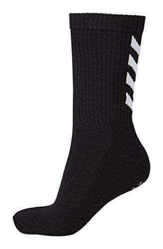Hummel Damen und Herren Socken Fundamental 3 Pack Sock (14 (46 - 48), Black (2001))
