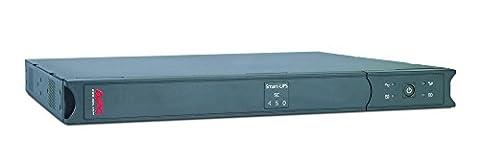 APC Smart-UPS SC - Uninterruptible Power Supply 450VA Rackmount 1U, - SC450RMI1U - Line Interactive, 4 Outlets IEC-C13, Shutdown Software