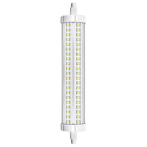 Bonlux lampadina LED R7s 189mm 30W Slim, doppio J189R7s 189mm tungsteno lineare 750W lampadina alogena, luce bianca calda 3000K 240V di ricambio per lampada di inondazione, non dimmerabile