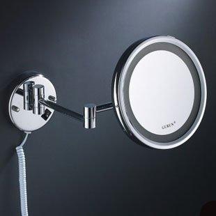 Morct Double cuivre miroir mural miroir mural Miroir de salle de bain Miroir de salle de bains,miroir lampe latérale unique et moderne 14Simple, confortable et durable Accueil, beau et sale