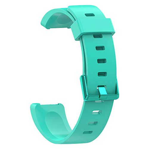 Knowin Uhrenarmband 22mm Ersatzarmband Silikon Atmungsaktive Armband Frauen Männer Uhrenarmband Armbänder Ersatzband für Fitbit Inspire/Inspire HR Mode Design Ersatzband (Klein) -