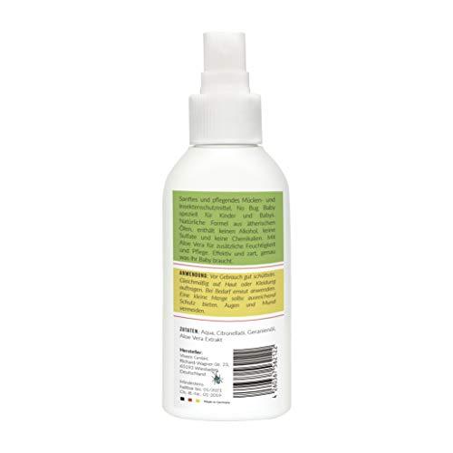 Zoom IMG-1 repellente zanzare nobug baby 100