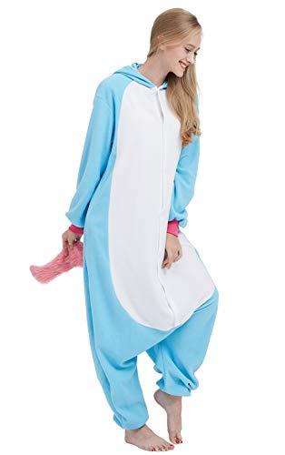 Einhorn Pyjama Cosplay Onesie für Erwachsene - 4