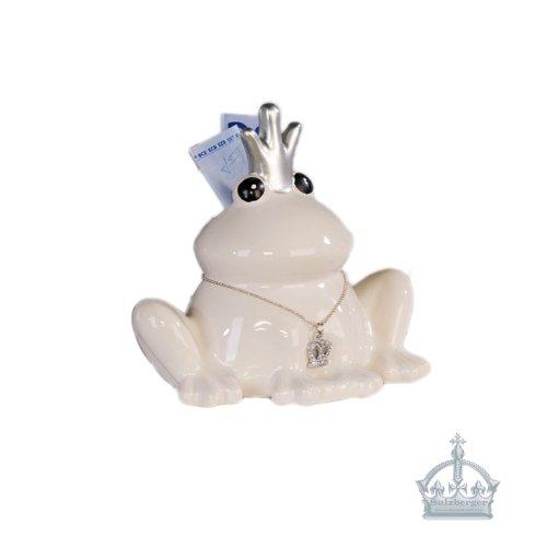 Spardose Froschkönig FROSCH Figur Sparschwein (Spardose Frosch)