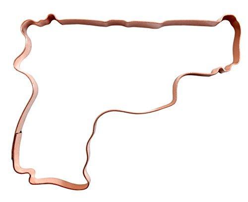 9mm Pistolen Kupfer Cookie Cutter (Semi-automatische Pistole)