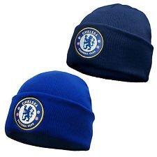 Chelsea Knit Beanie (Home Win Chelsea FC-Offizielles Beanie/Winter Hat)